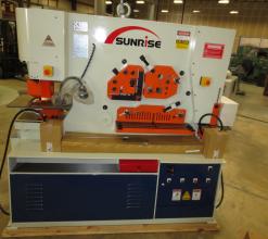 Sunrise IW-135S Dual-Cylinder – Dual-Operator Ironworker