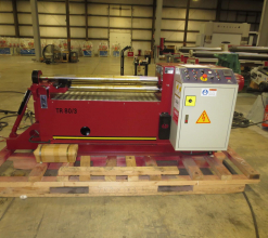LEMAS TR80/3 Three Roll Plate Roll