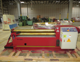 LEMAS TR140/5 Three Roll Plate Roll