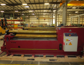 LEMAS TR200/6 Three Roll Plate Roll
