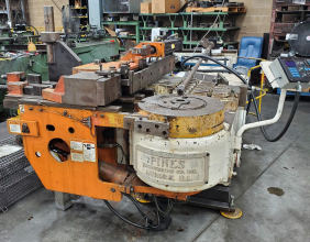 Used Pines #4 Low Boy Hydraulic Tube Bender