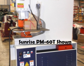 Sunrise PM-60T Punching Machine