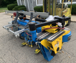 Pines #2 Hydraulic Tube Bender Refurbished Sample