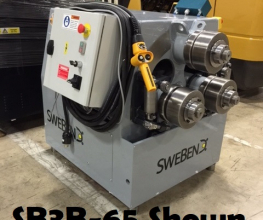 Swebend SB3B-360S Angle and Section Roll Bender