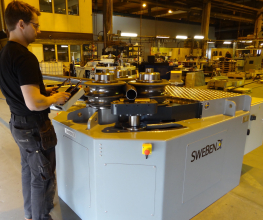 Swebend SB3B-140 Angle and Section Roll Bender