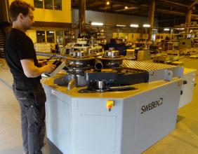 Swebend SB3B-140 Angle and Section Roll Bender