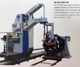 Muller Opladen RB 950/1500/6 Classic CNC Oxy Fuel/Plasma Cut System