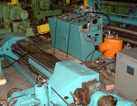 Cameron Machine 63″ Paper – Foil Slitting Line