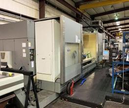 DMG, DMF360, Linear 5-Axis, 141″ X-Travel CNC Vertical Machine Center