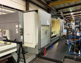 DMG, DMF360, Linear 5-Axis, 141″ X-Travel CNC Vertical Machine Center