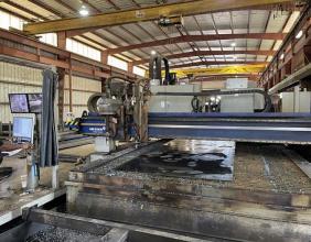 Messer, TMC4512DB, 10′ x 46′ CNC Plasma Cutting Machine, 2017