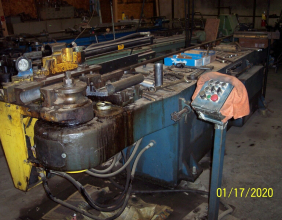 Used Pines #2 Hydraulic Tube bender with Tons of Tooling